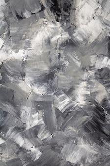 Gemalte hintergrundtextur als abstrakte wandoberfläche, kunstmalerkonzept