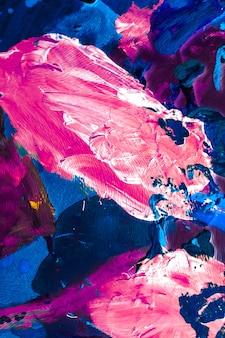 Gemalte textur künstlerischer hintergrund und modernes malereikonzept abstrakte acrylfarbe striche kunst br ...