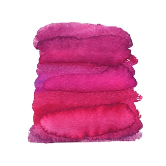 Gemalter rosa hintergrund. aquarellmalerei textur