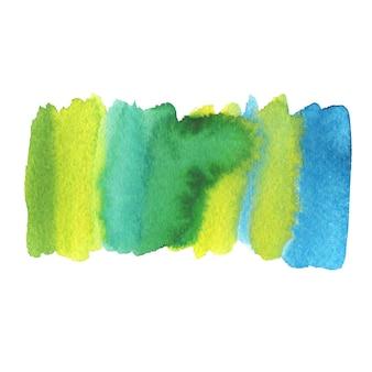 Gemalter sommerhintergrund. aquarellmalerei textur.