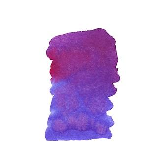 Gemaltes aquarellmalereibeschaffenheitspurpur