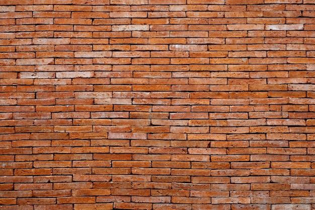 Gemauerter hintergrund der backsteinmauer, schmutzhintergrund