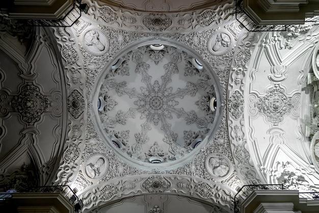 Gemeindekirche von santa cruz, cadiz, spanien