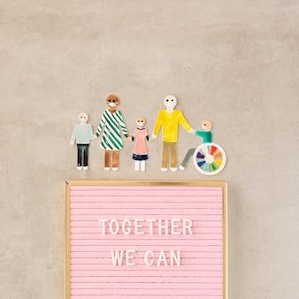 Gemeinsam können wir beim konzept helfen