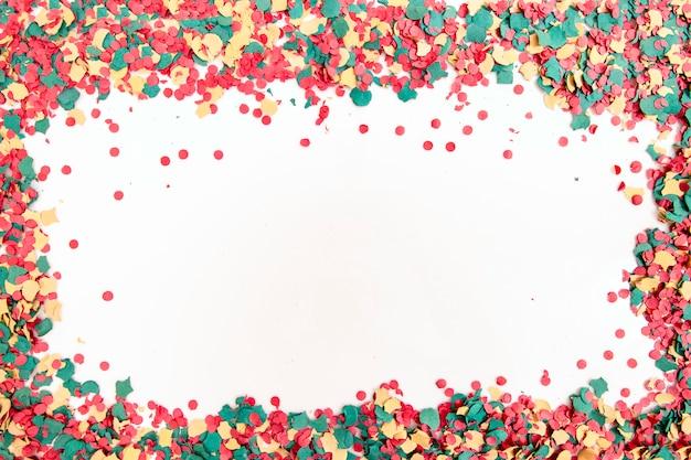 Gemischtes buntes konfetti
