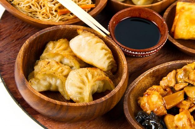 Gemischtes chinesisches essen