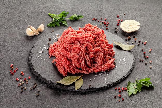 Gemischtes hausgemachtes hackfleisch