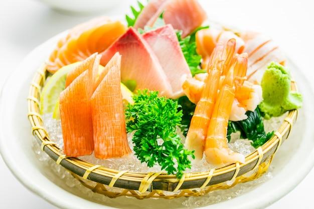 Gemischtes sashimi-set