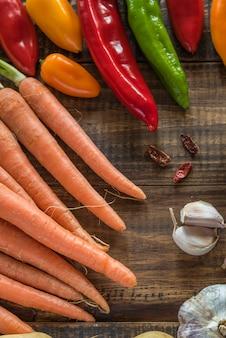 Gemüse auf dem tisch