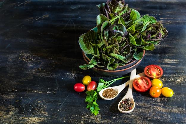 Gemüse für sommersalat