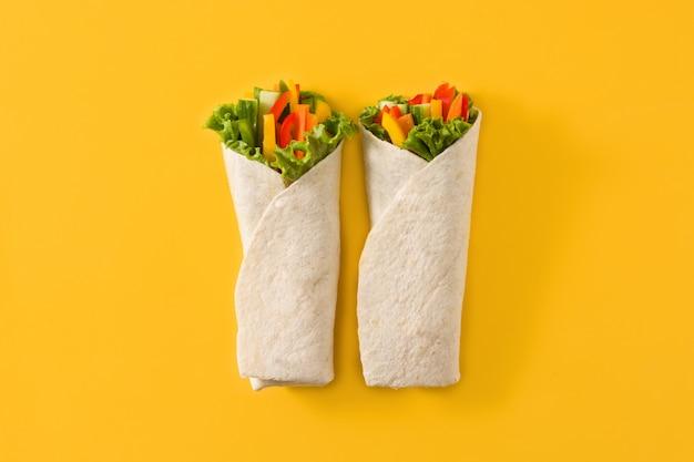 Gemüse-tortilla-wraps