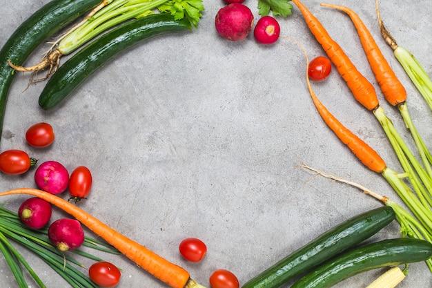 Gemüse- und gemüseaufsicht