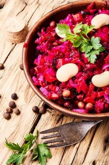 Gemüsegericht vinaigrette