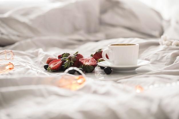 Gemütliches konzept zur schlafenszeit