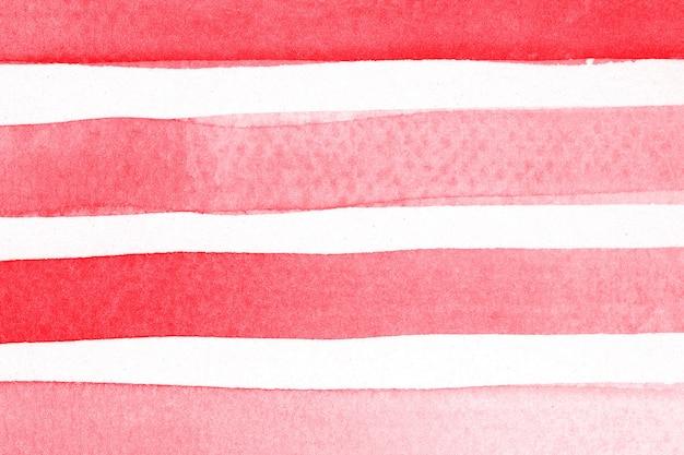Gemusterter hintergrund mit rotem pinselstrich