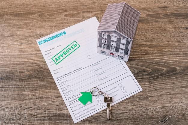 Genehmigter antrag auf immobilienkredite