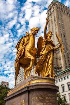 General william tecumseh sherman monument in new york
