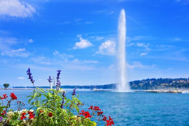 Genfer seewasser jet d'eau switzerland