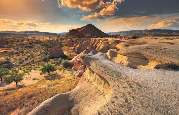 Geologische formationen in kappadokien