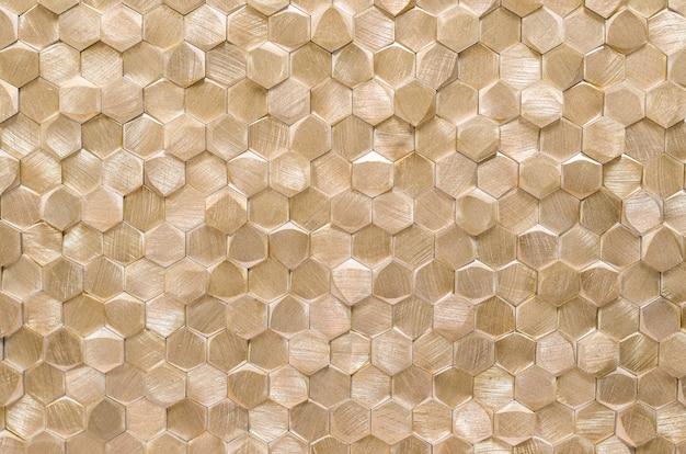 Geometrische abstrakte metallstruktur