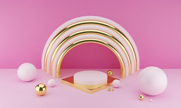 Geometrische formen abstrakter minimaler hintergrund