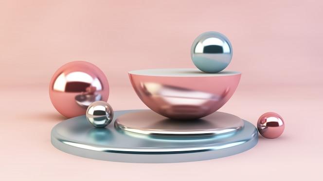 Geometrische formen, abstraktes grafikdesign