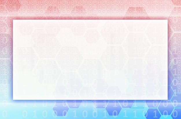 Geometrischen hintergrund mit farbverlauf mit sechsecken