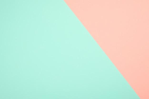 Geometrischer blauer und rosa hintergrund des abstrakten farbpapiers