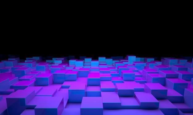 Geometrischer hintergrund 3d