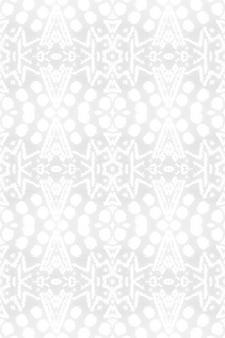 Geometrischer hintergrund der aquarellkeramikfliese. graues nahtloses muster.