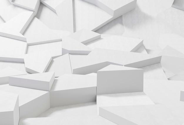 Geometrischer hintergrund mit minimalistischen formen