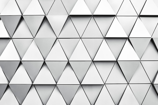 Geometrischer silberner hintergrund mit raute und knoten.
