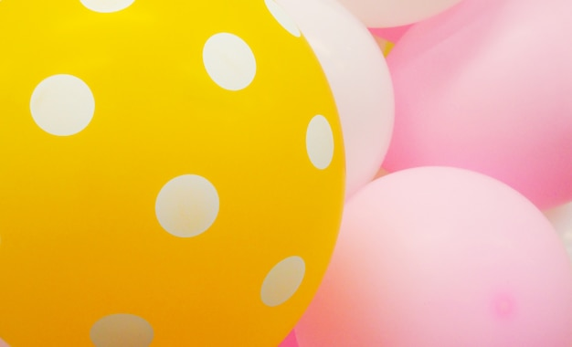 Gepunktete ballons