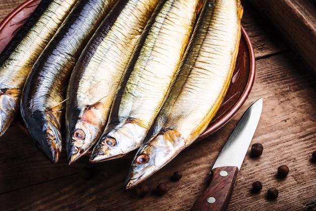 Geräucherter fisch makrelenhecht