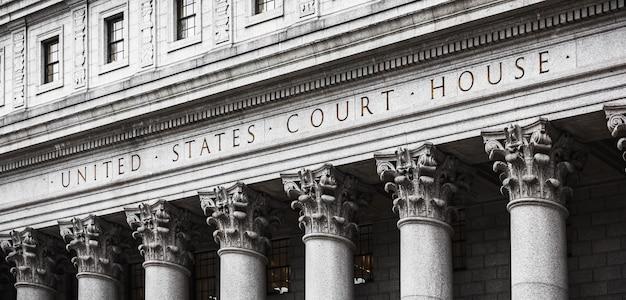 Gerichtsgebäude der vereinigten staaten