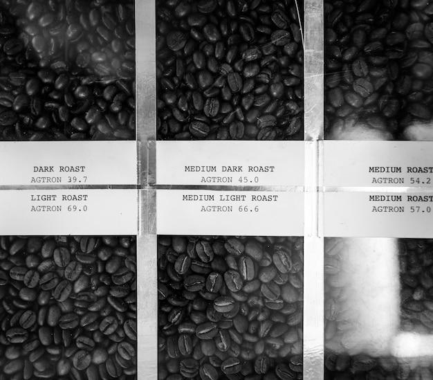 Geröstete kaffeebohne-bilder konzept