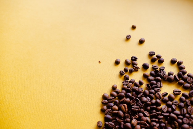 Geröstete kaffeebohnen