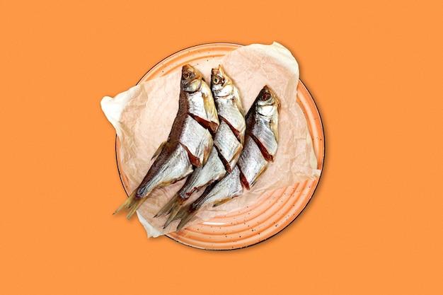 Gesalzener trockener fisch, biersnack