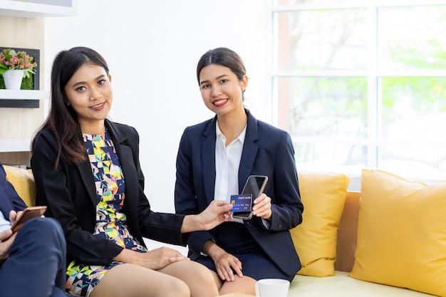 Geschäft im mobile banking