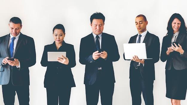 Geschäft in den sozialen medien