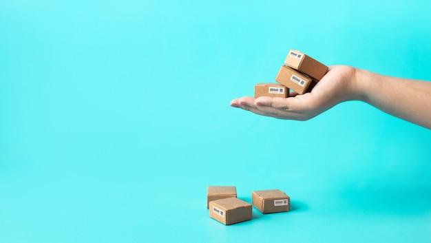 Geschäftlicher e-commerce oder online-shopping
