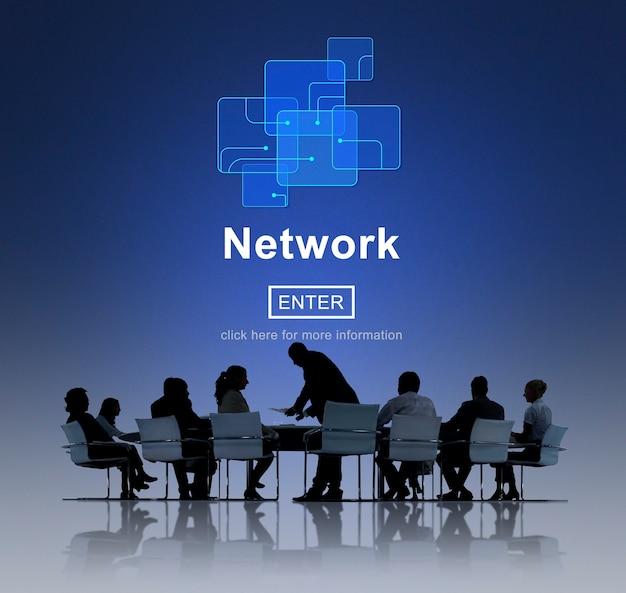 Geschäfts-netzwerk