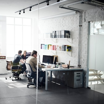 Geschäfts-team professional occupation workplace-konzept