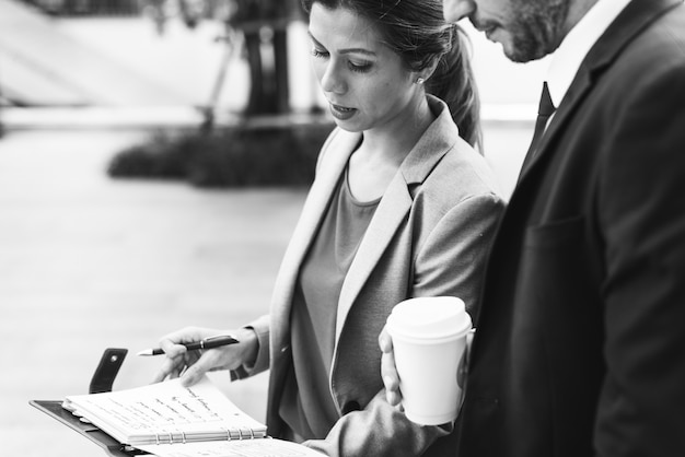 Geschäfts-unternehmens-partnerschafts-büro-arbeitskraft-konzept