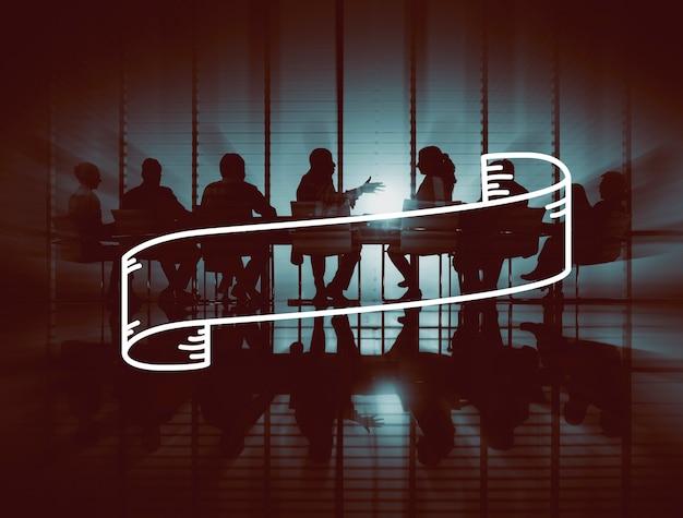 Geschäfts-unternehmenstechnologie-leute-grafik-konzept