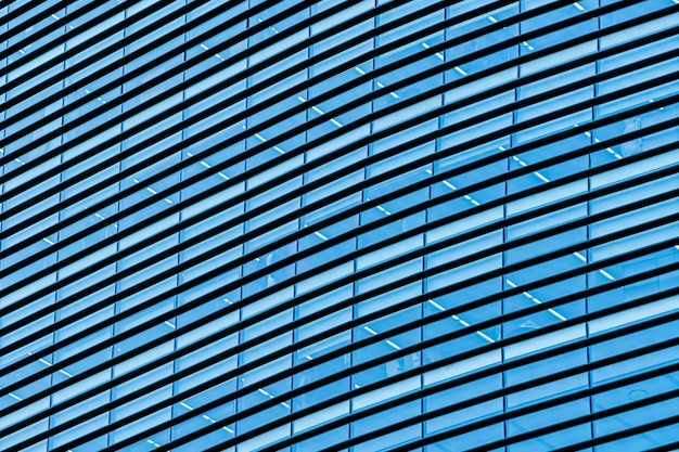 Geschäftsbürogebäudewolkenkratzer mit fensterglas