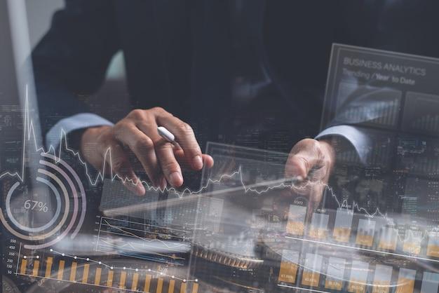 Geschäftsfinanzierungs- und investitionskonzept