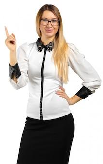 Geschäftsfrauportrait