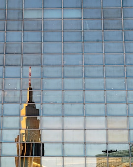 Geschäftsgebäude der stadtlandschaft japan