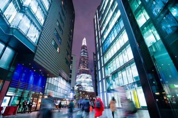 Geschäftslokalgebäude in london, england